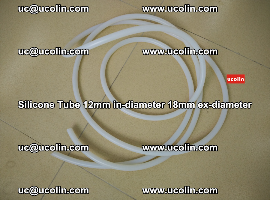 Silicone Tube for vacuuming EVA PVB SGP laminated glass glazing (25)
