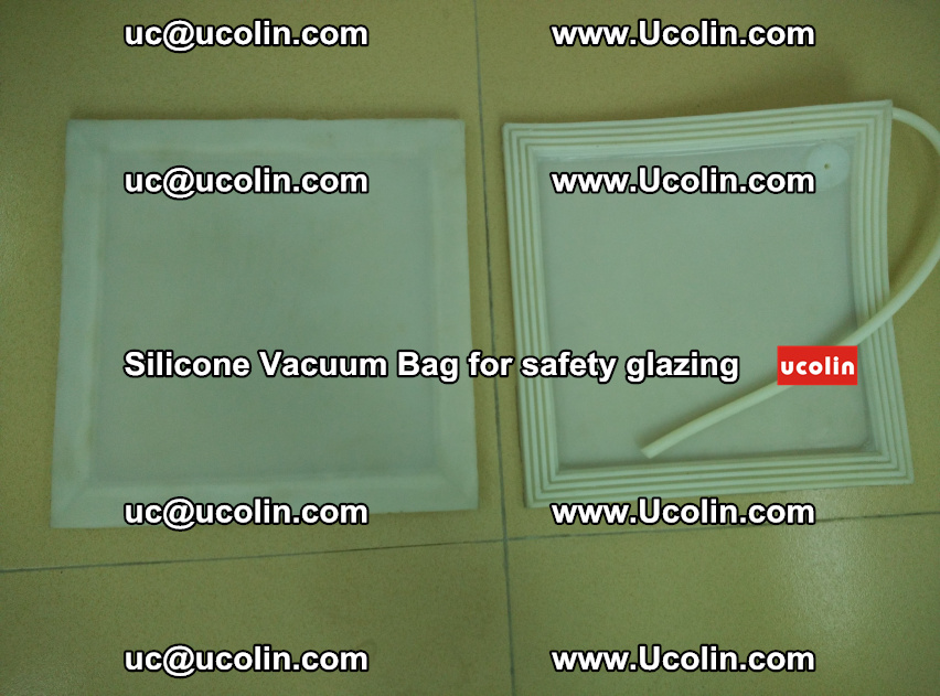 Silicone Vacuum Bag sample for safety glazing EVA PVB (103)