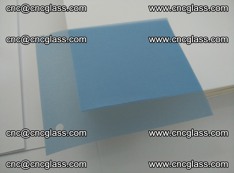 EVA glass interlayer film for safety glazing royal blue (1)