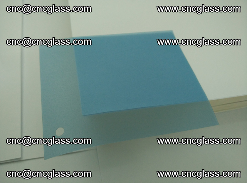 EVA glass interlayer film for safety glazing royal blue (10)
