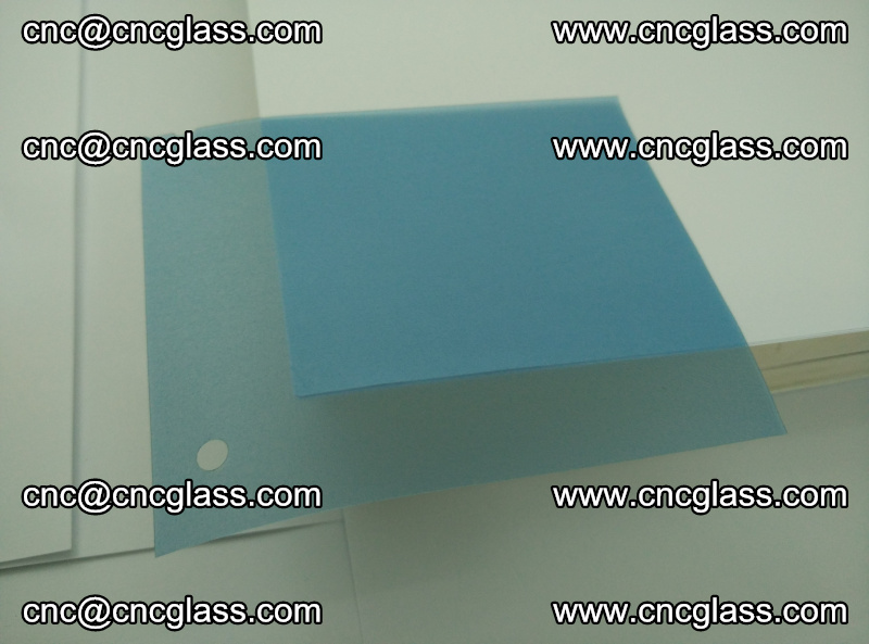 EVA glass interlayer film for safety glazing royal blue (11)