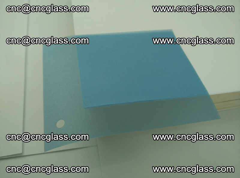 EVA glass interlayer film for safety glazing royal blue (13)