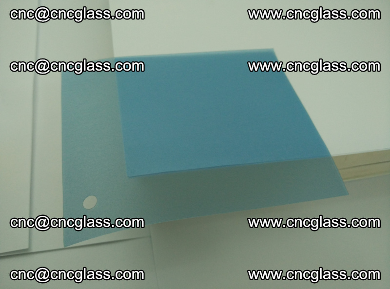EVA glass interlayer film for safety glazing royal blue (14)