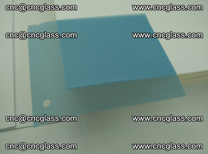 EVA glass interlayer film for safety glazing royal blue (15)