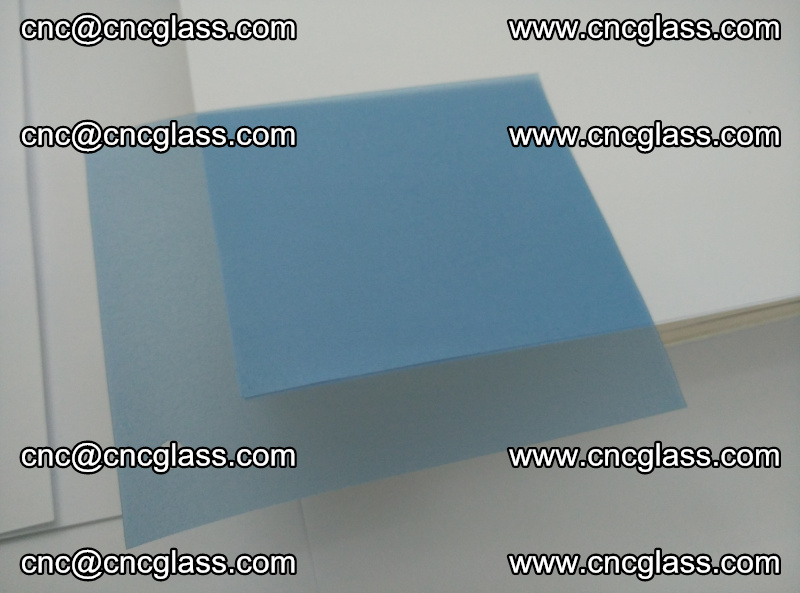 EVA glass interlayer film for safety glazing royal blue (17)