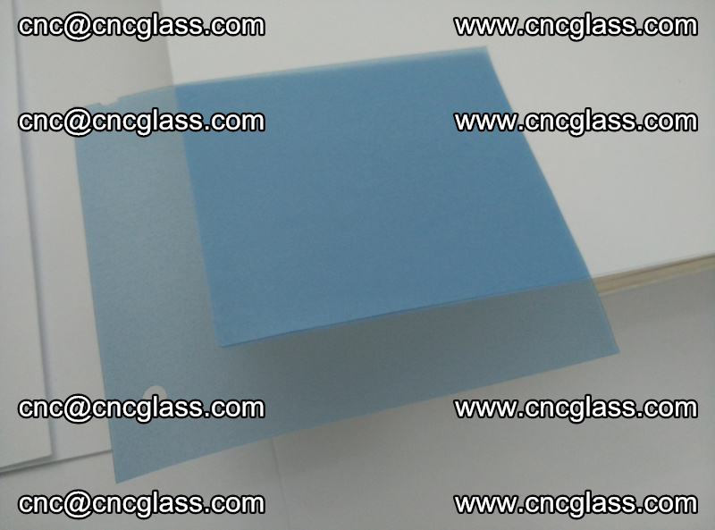 EVA glass interlayer film for safety glazing royal blue (18)