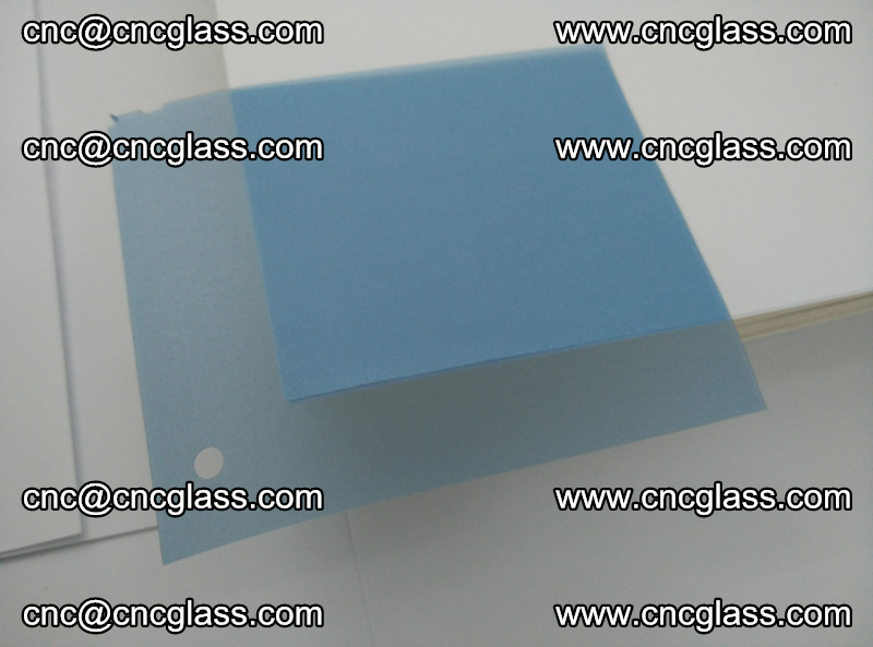 EVA glass interlayer film for safety glazing royal blue (19)