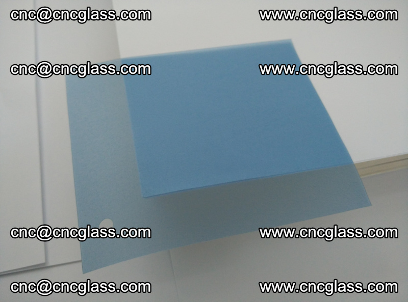 EVA glass interlayer film for safety glazing royal blue (2)