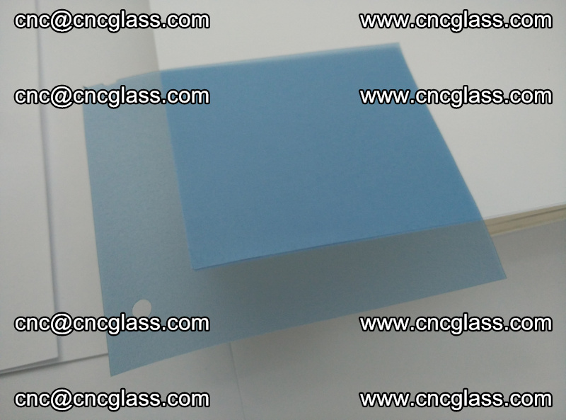 EVA glass interlayer film for safety glazing royal blue (20)