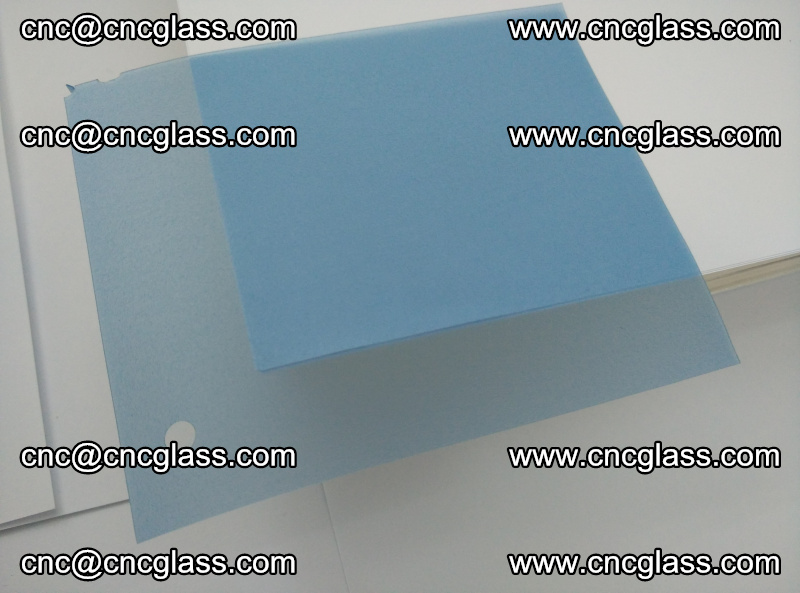 EVA glass interlayer film for safety glazing royal blue (5)