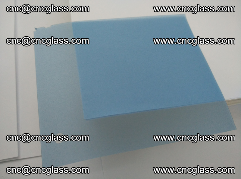 EVA glass interlayer film for safety glazing royal blue (7)