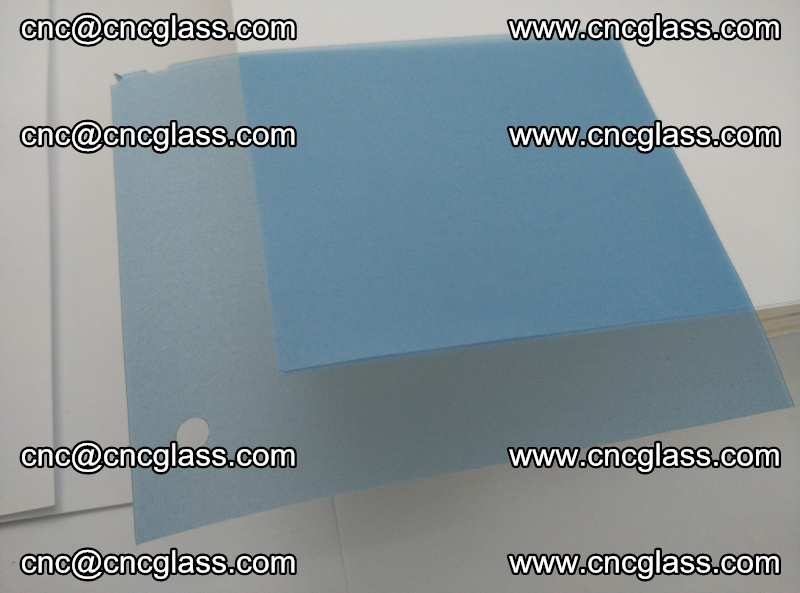 EVA glass interlayer film for safety glazing royal blue (8)