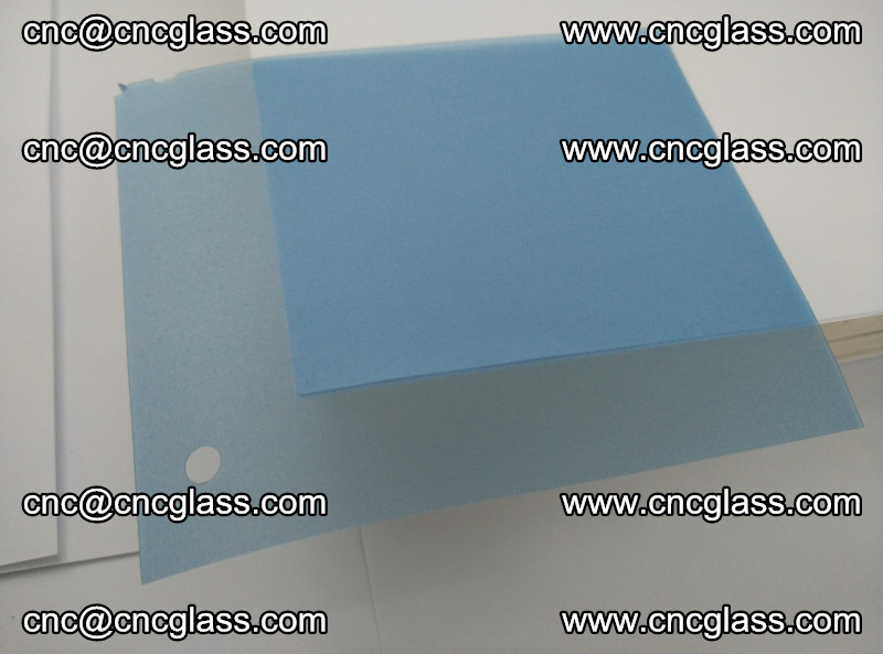 EVA glass interlayer film for safety glazing royal blue (9)